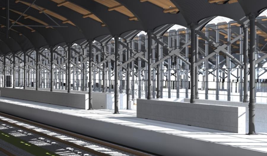 Jak pasażerowie dostaną się na nowe perony w Białystoku?