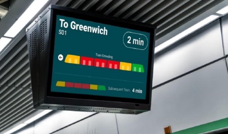 Thales zaprezentował system do monitorowania zatłoczenia pociągów i stacji