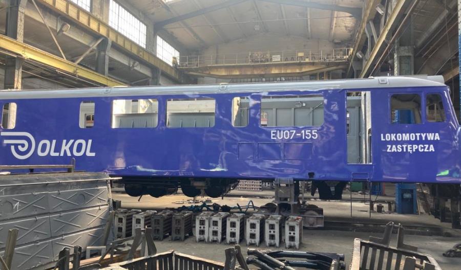Olkol jak serwis samochodowy: lokomotywa zastępcza na czas naprawy
