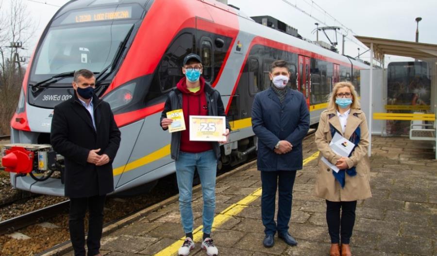 25 milionów pasażerów ŁKA