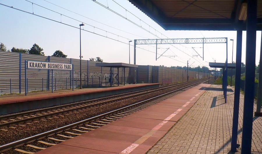Przebudowa przystanku Kraków Business Park jednak dla własnej spółki PLK