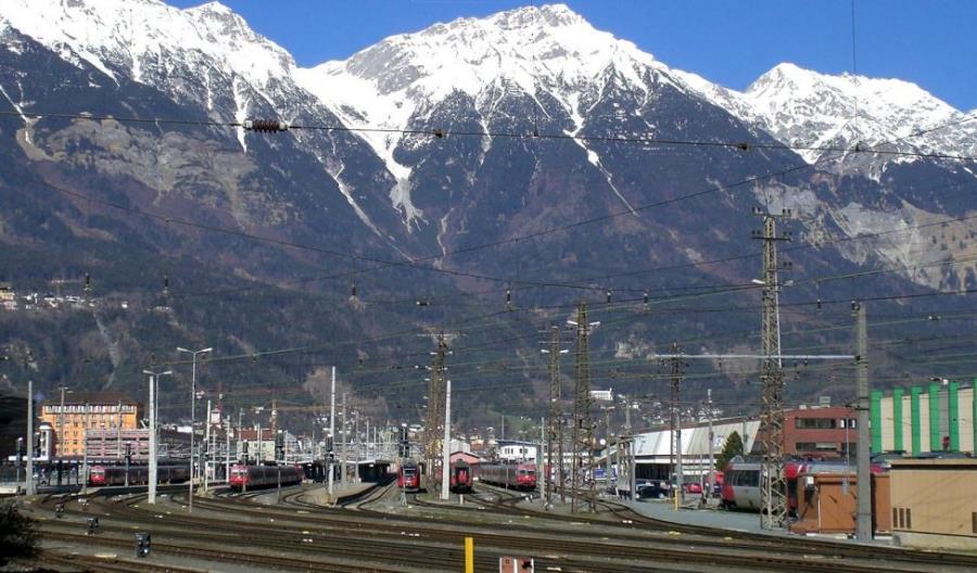 Wariant nowej linii kolejowej Niemcy - Austria wybrany. Aż trzy tunele