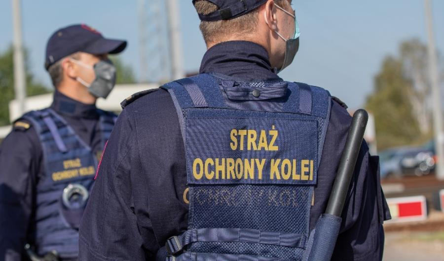 Nieletni, którzy układali przeszkody na torach, ujęci przez Straż Ochrony Kolei