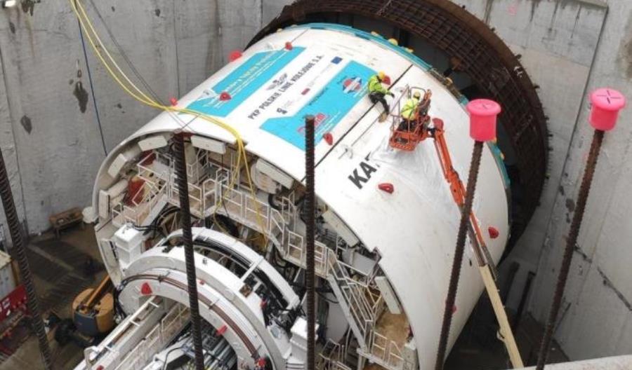 Łódzki tunel średnicowy: Mała tarcza rozpoczęła drążenie