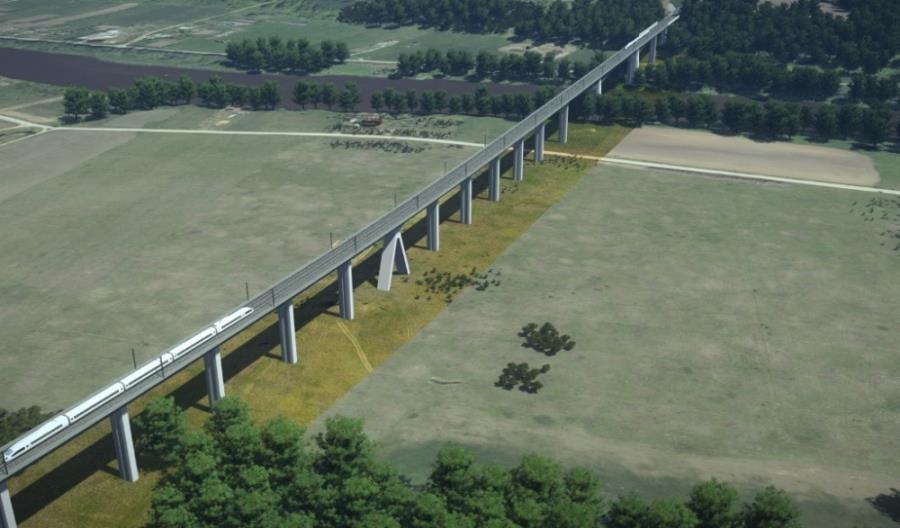 Litwa: Najdłuższy most Rail Baltiki z pozwoleniem na budowę