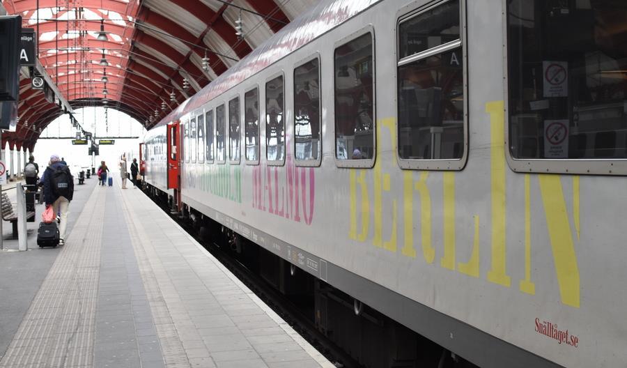 Rusza nocny prywatny pociąg Berlin – Kopenhaga – Malmo – Sztokholm