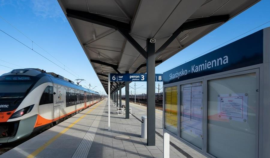 PLK przygotują linię 25 od Skarżyska-Kamiennej do Tomaszowa dla ruchu pasażerskiego