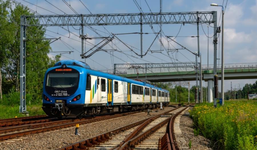 Nadzwyczajna korekta rozkładu jazdy KŚ na linii do Rybnika