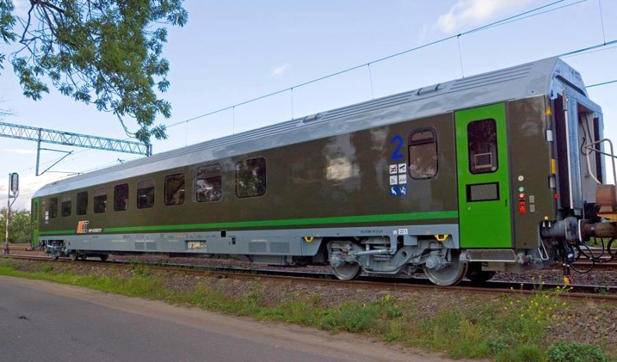 PKP Intercity odebrało wojskowe wagony z FPS