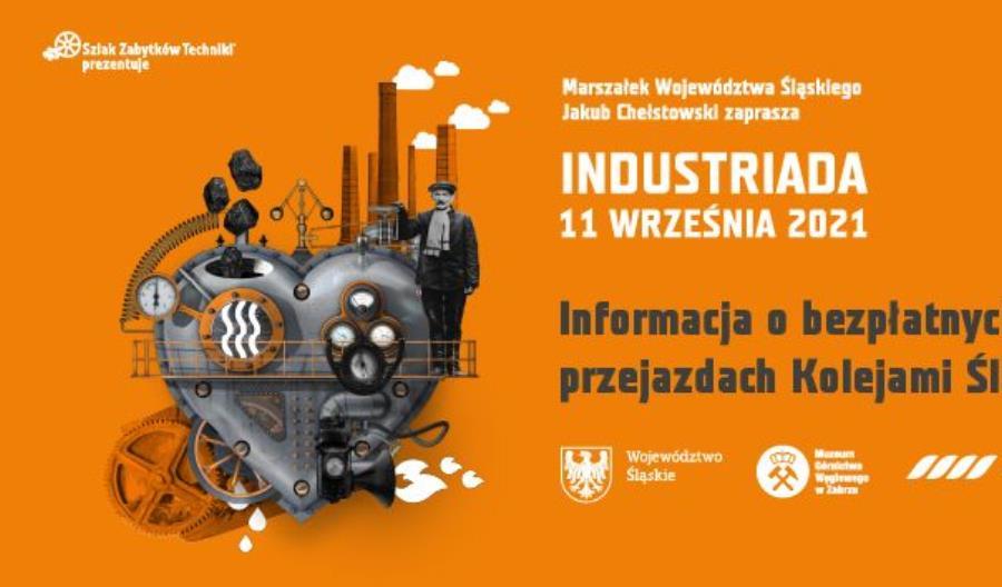 Koleje Śląskie oficjalnym organizatorem transportu podczas festiwalu Industriada