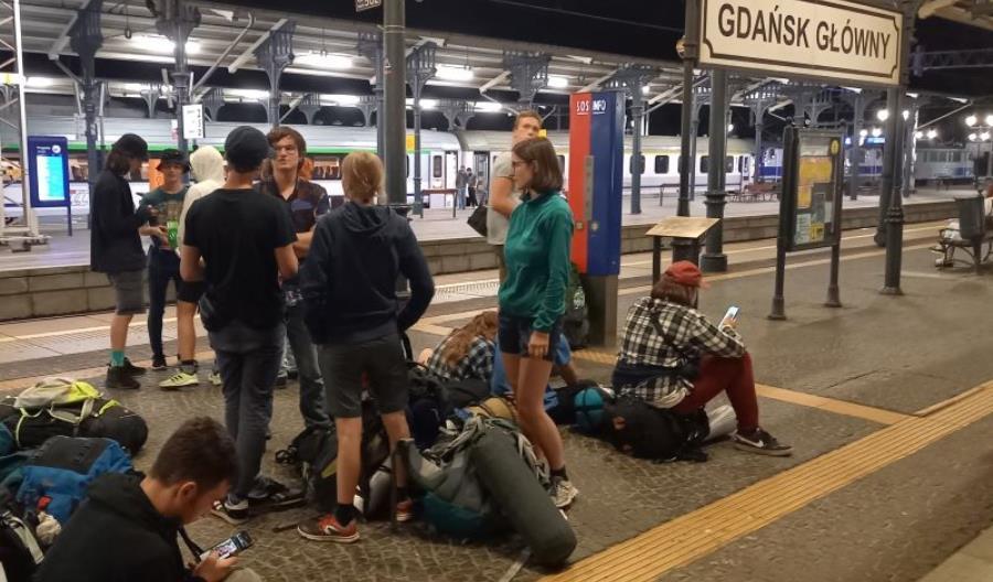 Niezwykła wycieczka maturzystów. W 13 dni pociągami dookoła Polski