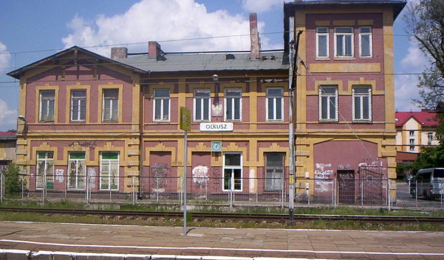 PLK na razie nie planują remontu stacji Olkusz