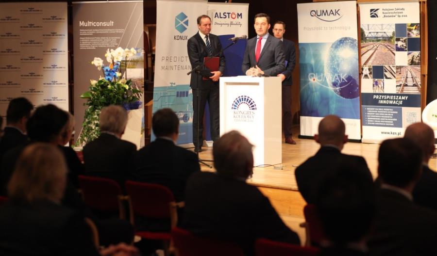 Gdańsk. Rozpoczął się Kongres Kolejowy 2016