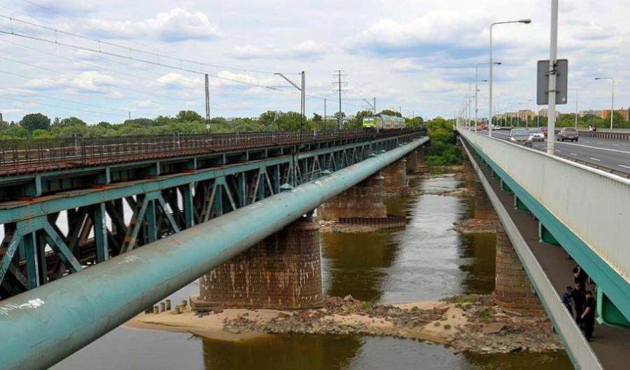 Remont kolejowego mostu Gdańskiego do końca 2018 roku