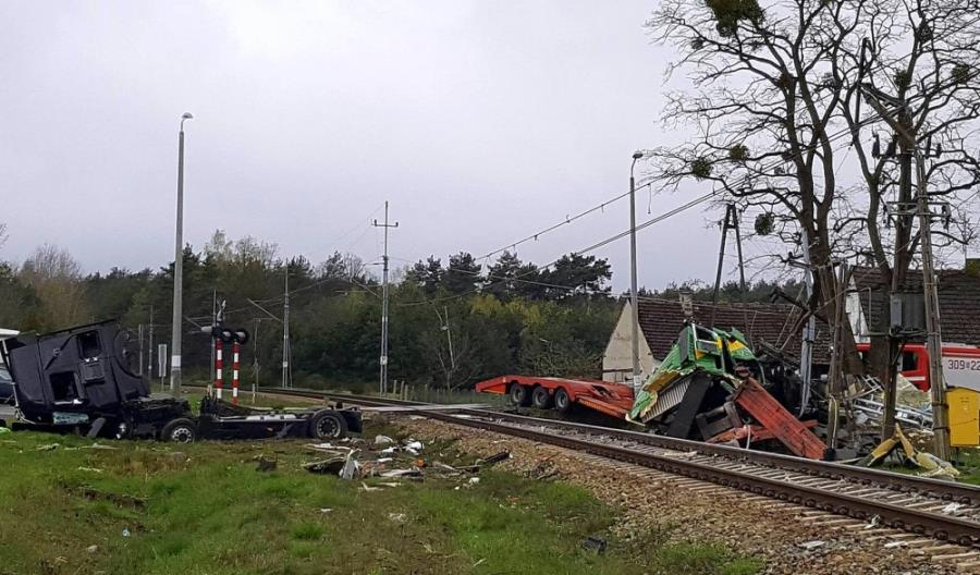 Większość wypadków na kolei to zdarzenia niezależne od systemu
