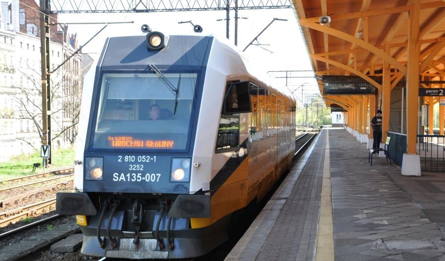 Od nowego rozkładu jazdy więcej pociągów na Dolnym Śląsku