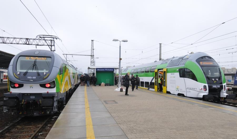KM: Liczymy na nowe pociągi w końcu 2018, nie narzekamy na tabor od Pesy