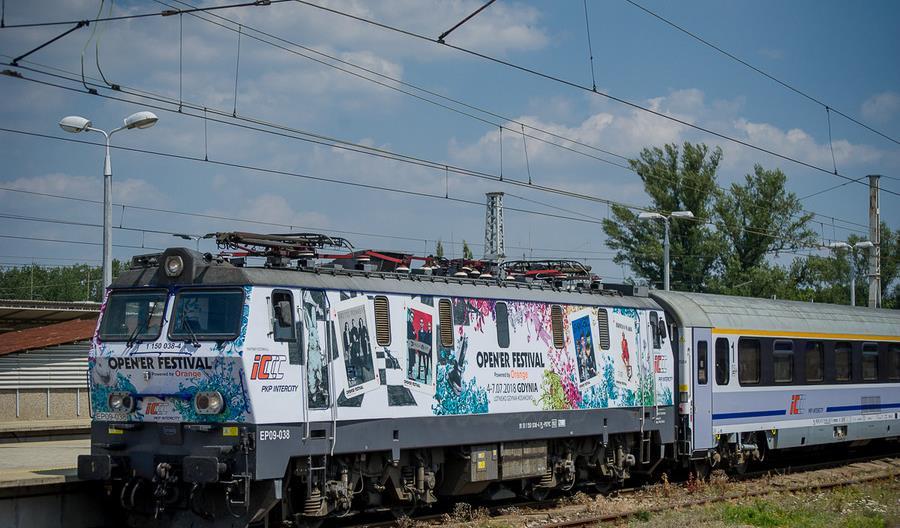 Specjalny pociąg PKP Intercity na Open'er Festival