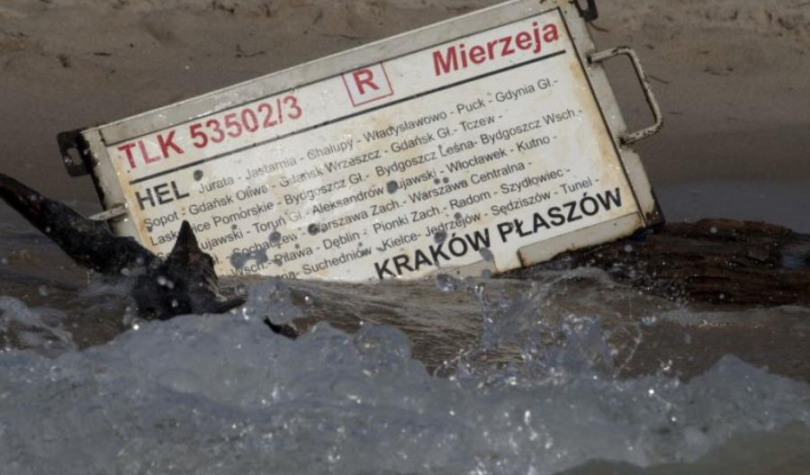 Specjalna strefa PKP Intercity na... plaży