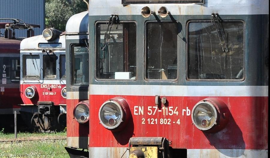 W końcu 2017 na torach wciąż było 643 EN57 bez większych modernizacji