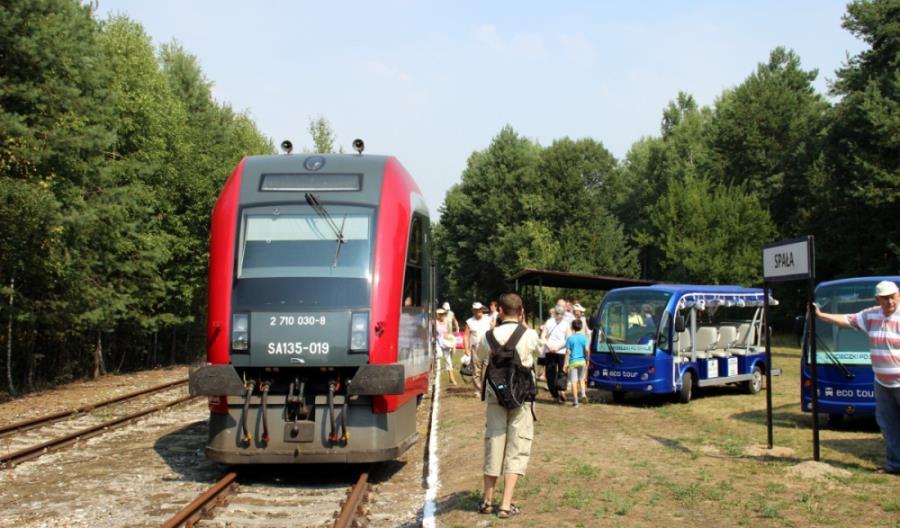 Niespodziewana inauguracja ruchu turystycznego do Spały