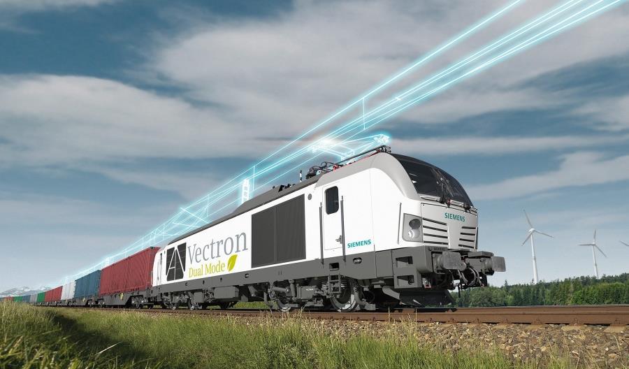 Siemens pokaże lokomotywę Vectron Dual Mode na targach Innotrans 2018