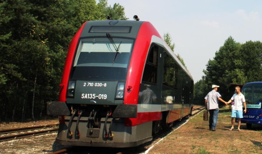 W 3 lata po remoncie linii Tomaszów Mazowiecki - Spała pociągi przyspieszą