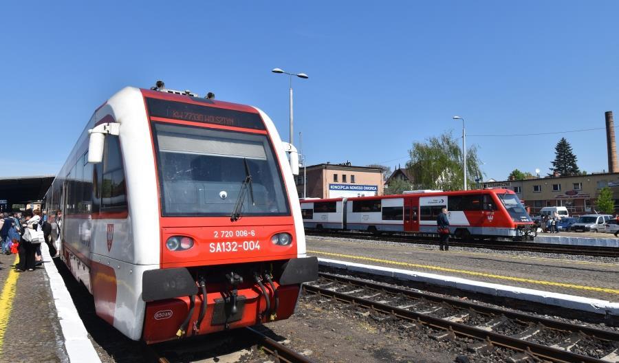 Koleje Wielkopolskie przewiozły w 2018 roku o 2 mln pasażerów więcej
