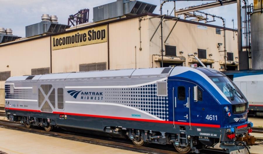 Nowe lokomotywy Siemensa dla Amtrak i wzrosty przewozów. Co słychać w USA?
