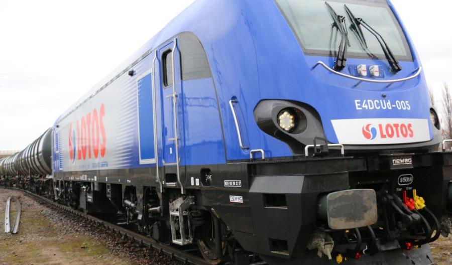 Nowe lokomotywy z Newagu zadebiutowały w Lotos Kolej