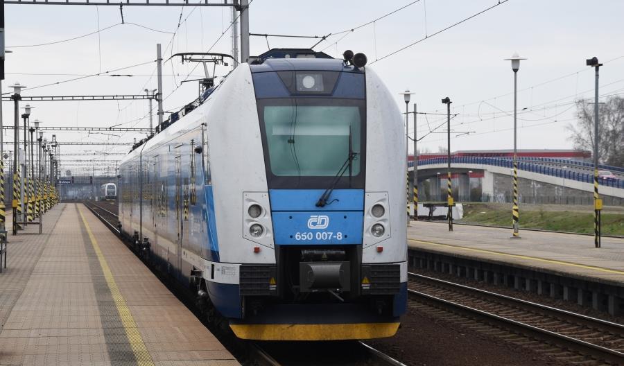 Rekordowa praca przewozowa na kolei w Czechach
