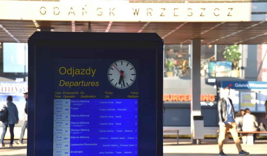 System informacji pasażerskiej we Wrzeszczu i Oliwie w końcu działa