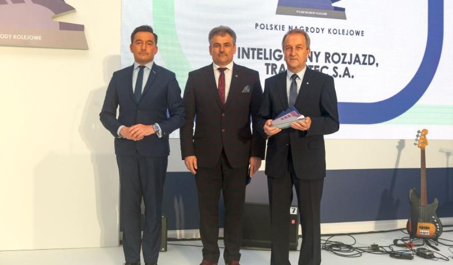 Track Tec z Polską Nagrodą Kolejową 2019