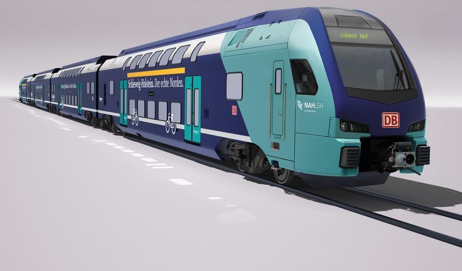Stadler dostarczy piętrowe Kissy dla DB Regio