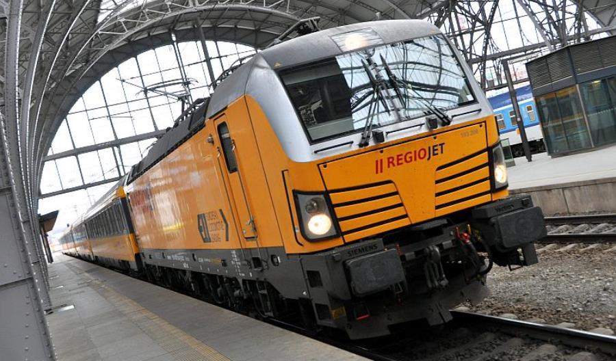 Wniosek RegioJet o dostęp do trasy z Pragi do Mościsk już w UTK