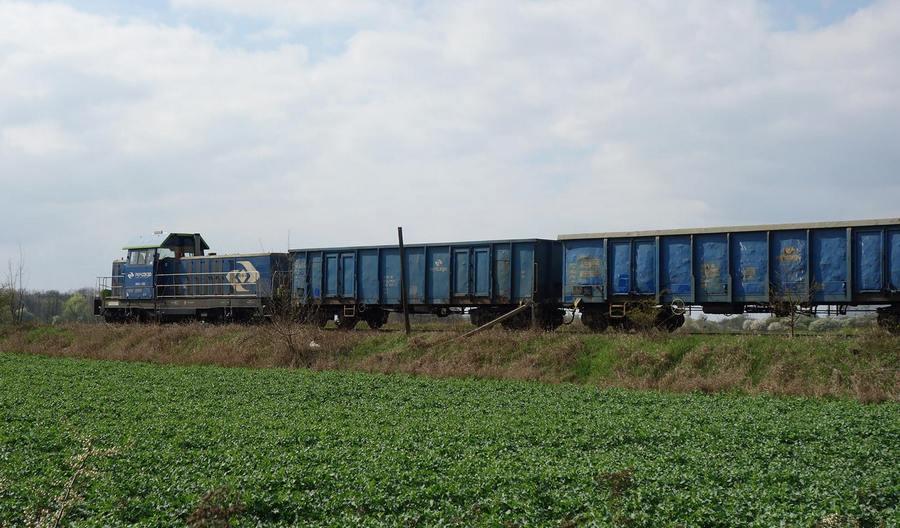 Dalsze spadki w przewozach towarowych na kolei w listopadzie