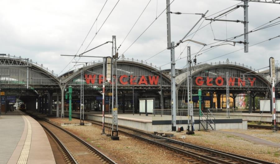 Najwięcej pasażerów w 2018 roku skorzystało z dworca Wrocław Główny