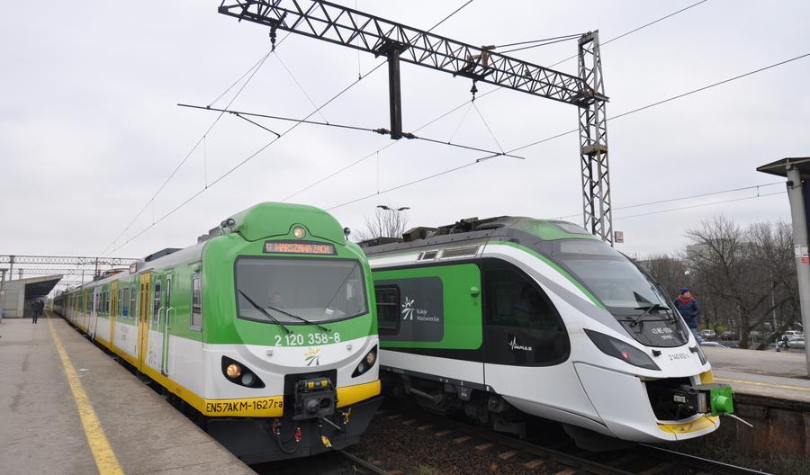 Jak pojadą pociągi na Mazowszu od połowy marca?