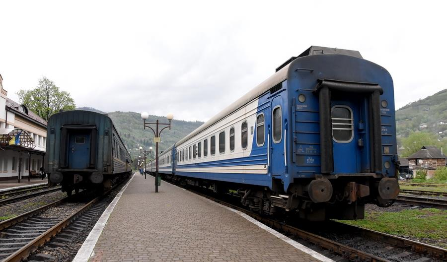 Pociągi pasażerskie powrócą do kursowania na Ukrainie