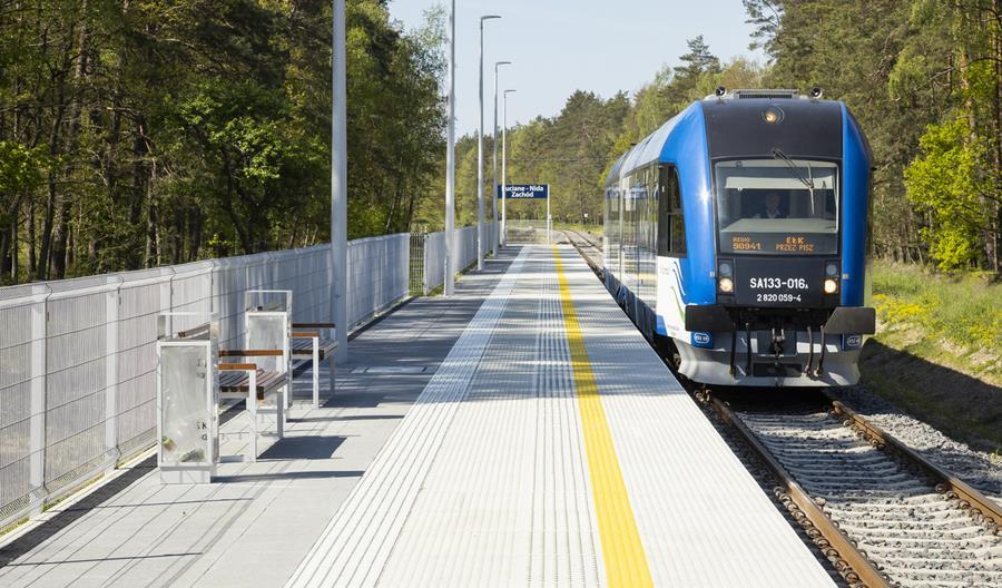 Nieco więcej pociągów między Ełkiem, Piszem i Olsztynem