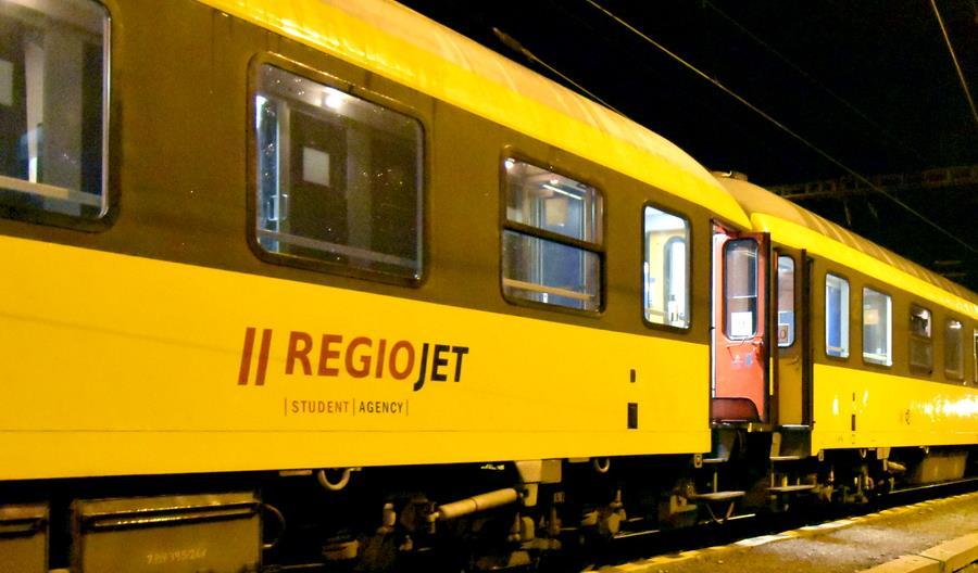 RegioJet myśli także o nocnym połączeniu z Warszawy do Wiednia i Bratysławy