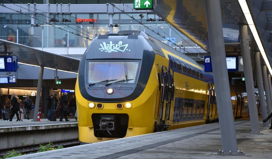 Na większości ważnych magistral w Holandii pociągi IC co... 10 minut