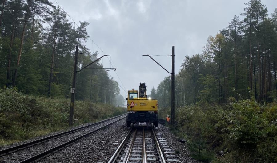 Rozpoczęły się prace na linii kolejowej 131