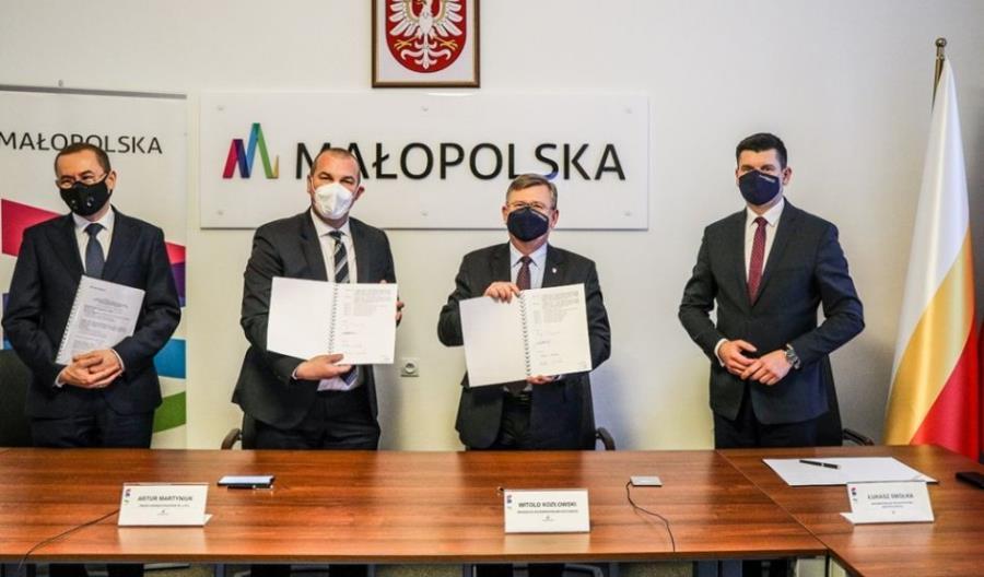 Polregio z 6-letnią umową w województwie małopolskim