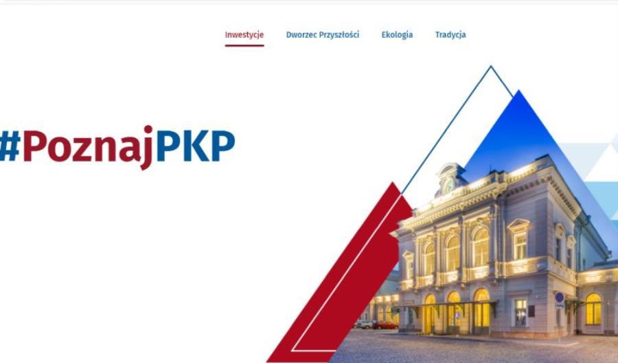 Ruszyła strona poznaj.pkp.pl