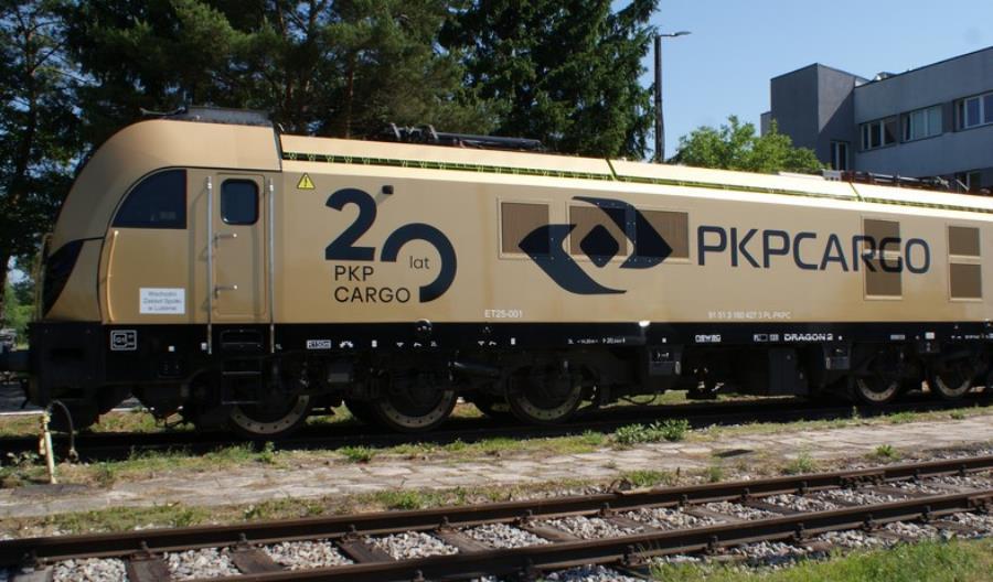 Złoty Dragon 2 na 20. rocznicę powstania PKP Cargo