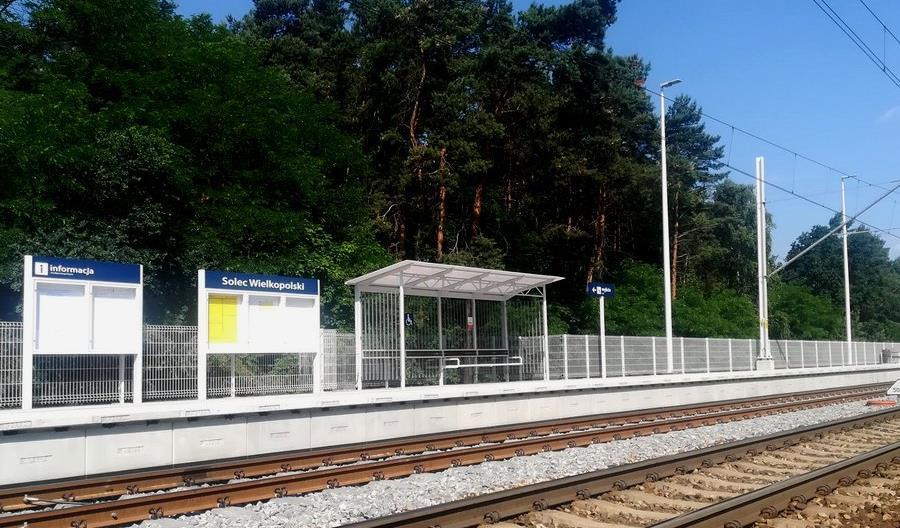 Nowe perony w Wielkopolsce. Tym razem w Solcu Wielkopolskim