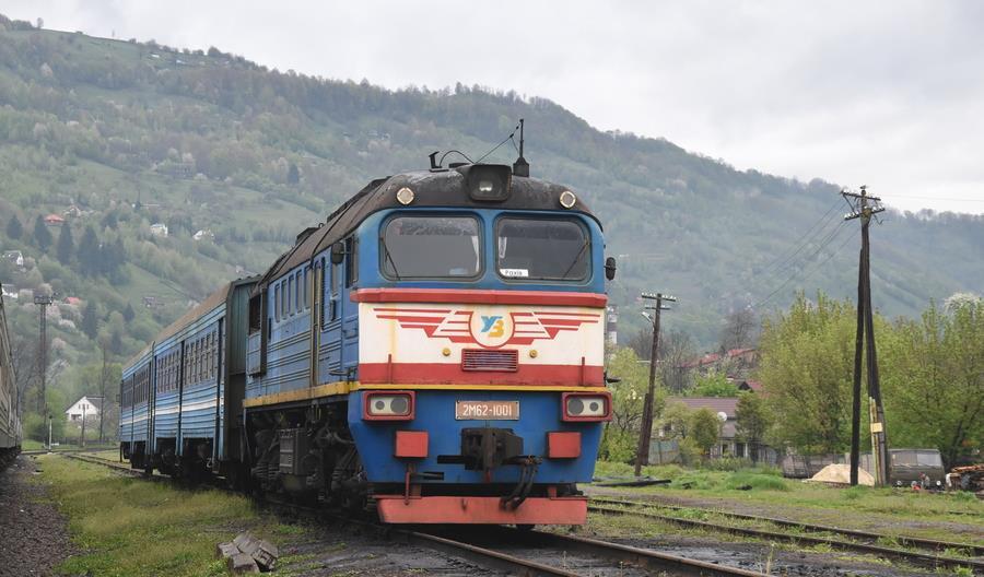 Deutsche Bahn pomoże zmieniać kolej pasażerską na Ukrainie