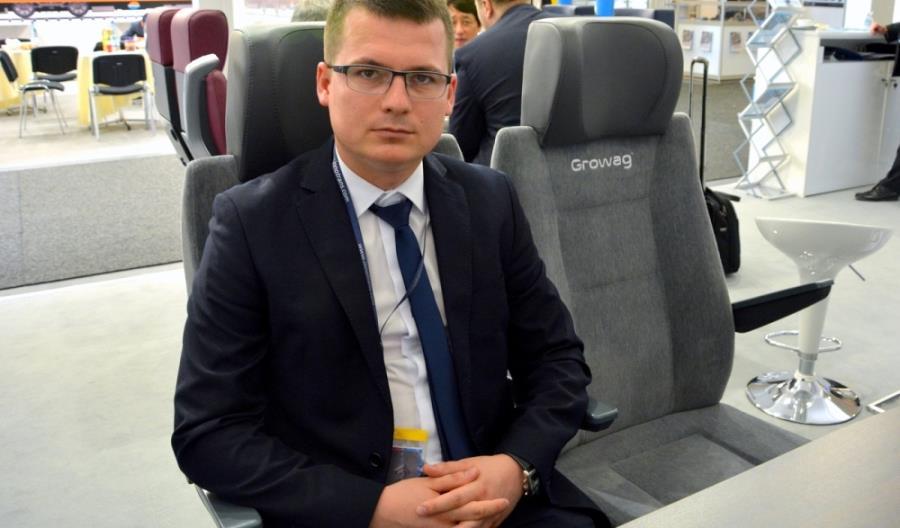 Growag z fotelami pasażerskimi przyszłości