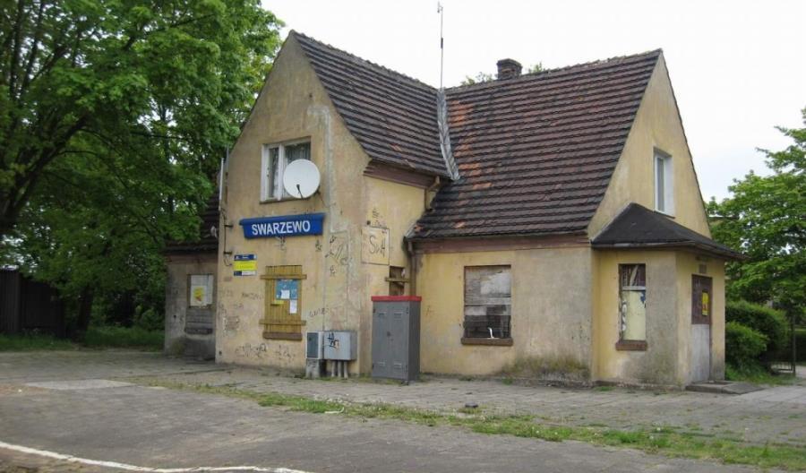 Dworzec w Swarzewie do remontu